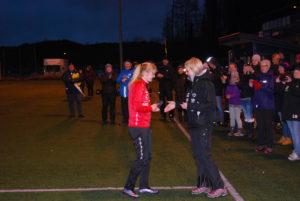 Etter juryens avgjørelse var det Ida Sofie Kaland fra Fana som ble kåret til banens beste spiller.
